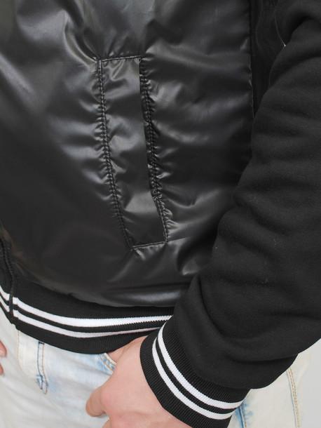 BUFFALO кофта черный с белым