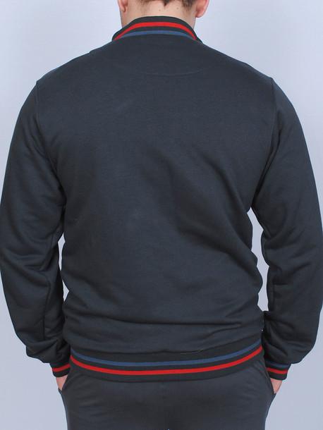 BUFFALO кофта красная полоса