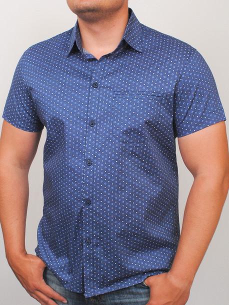 CUADRO рубашка синий