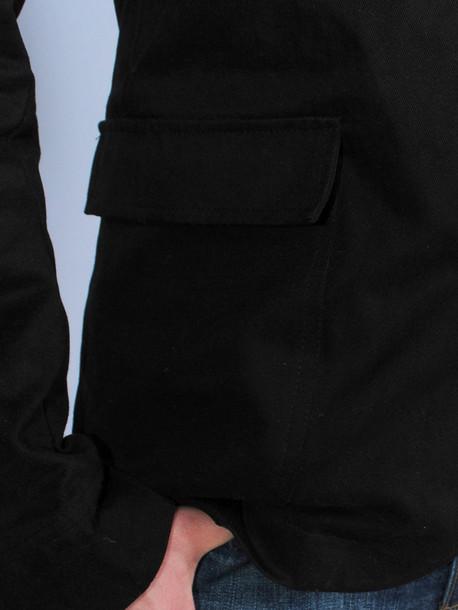 JACKET пиджак черный