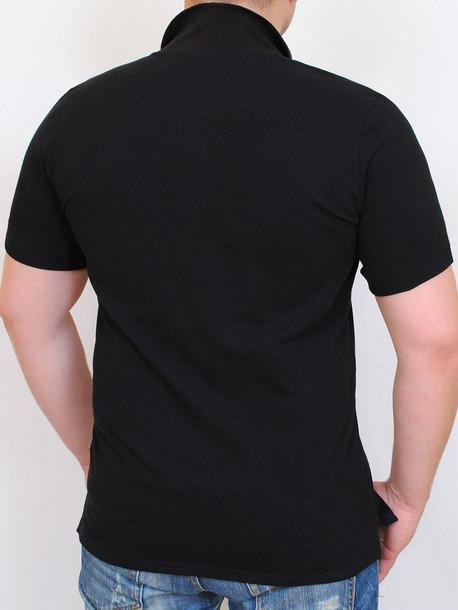 LACOSTA футболка черный