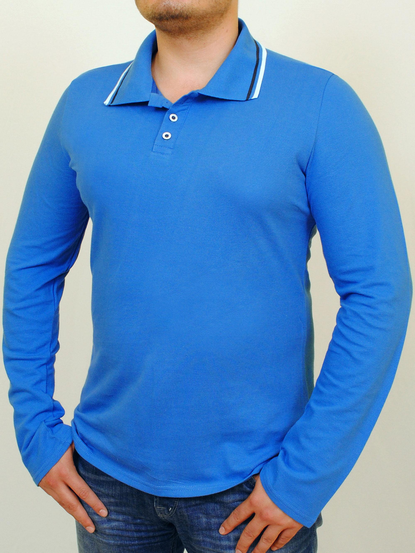 Купить LACOSTA long футболка длинный рукав индиго, grand ua, PFProject мужская одежда