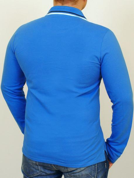 LACOSTA long футболка длинный рукав индиго