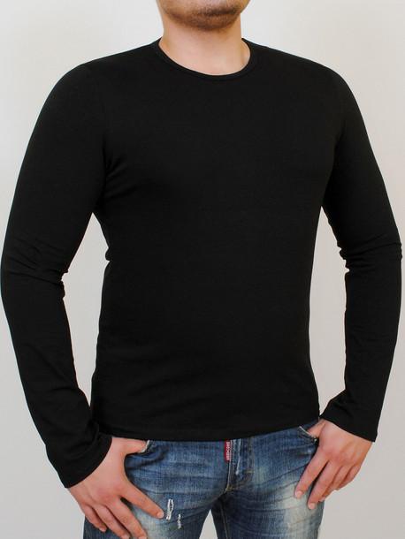 LS футболка длинный рукав черный