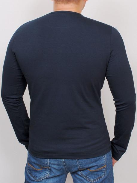 LS футболка длинный рукав т.синий