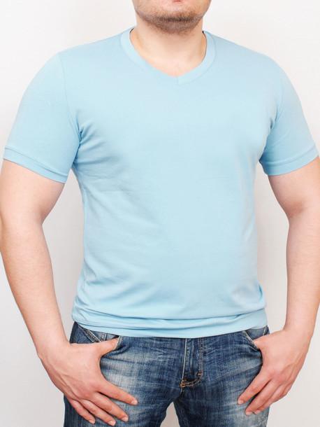 MEN  футболка azure