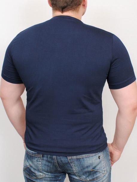 MEN  футболка cyan