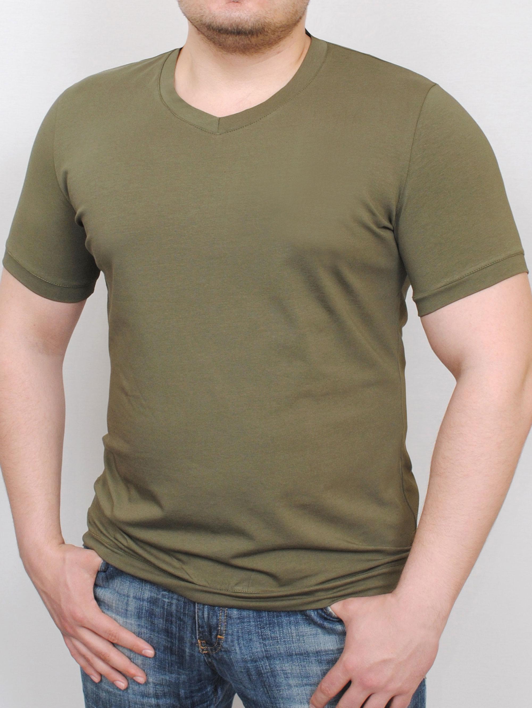 Купить MEN футболка haki, grand ua, PFProject мужская одежда