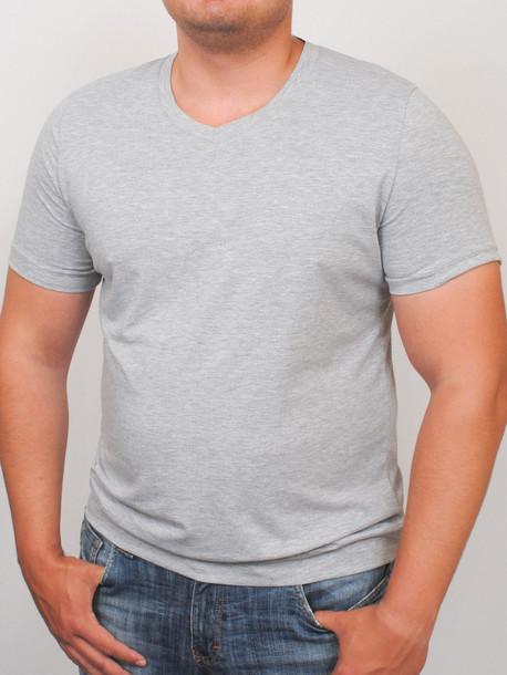 MEN  футболка меланж