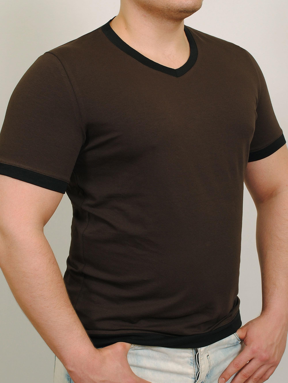 MEN  футболка шоколад