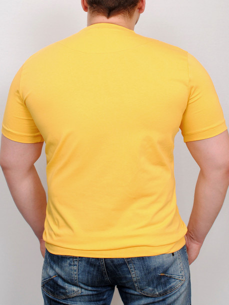 MEN  футболка yellow