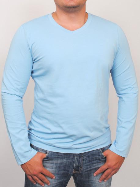 MEN LONG  футболка длинный рукав azure