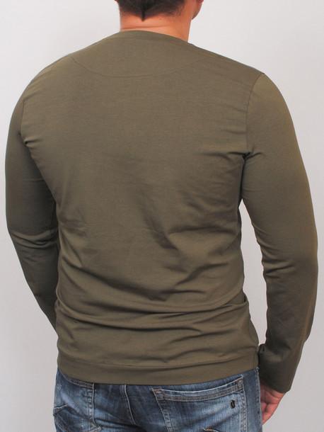 MEN LONG  футболка длинный рукав haki