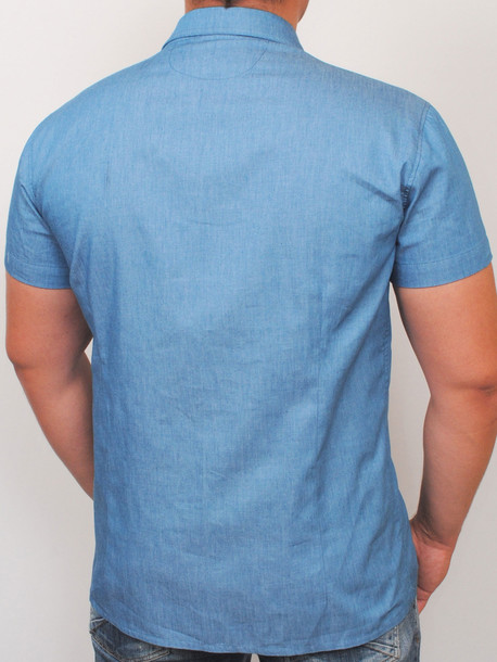 MIGUEL рубашка светлый джинс