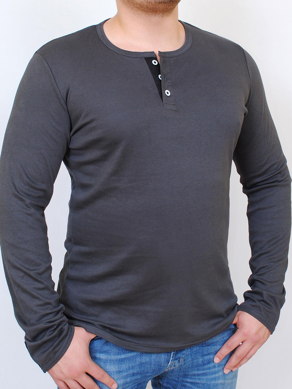 ODYSSEY футболка  длинный рукав графит с черным