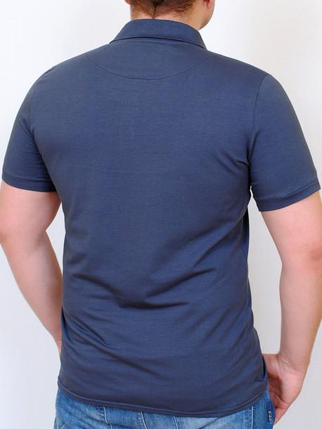 POLO  футболка графит