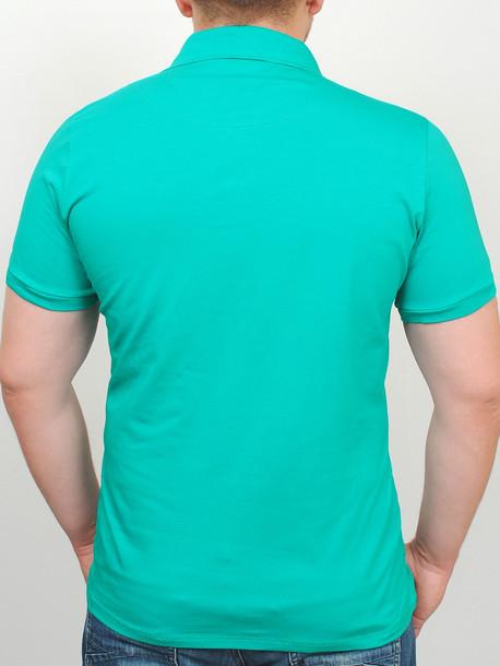 POLO  футболка изумрудный