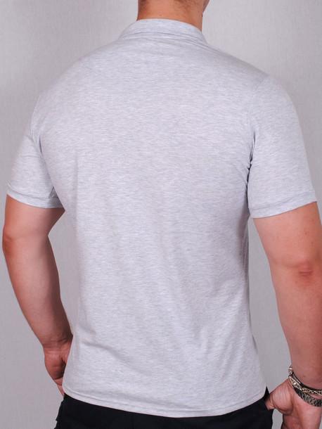POLO  футболка меланж