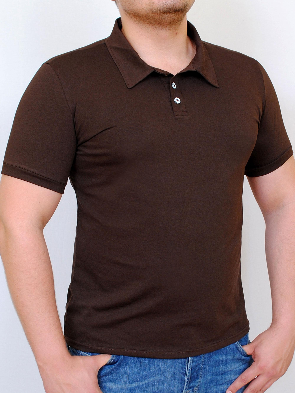POLO  футболка шоколад