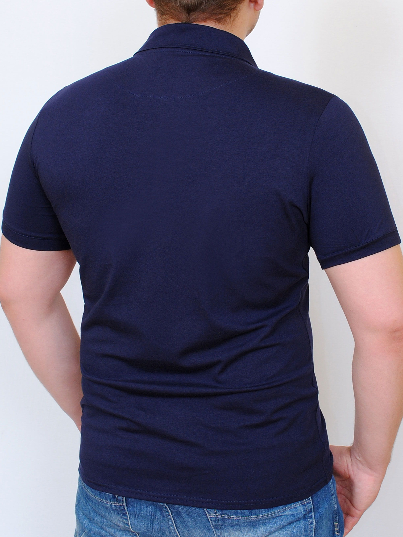 POLO  футболка индиго