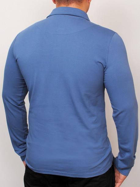 Polo long  футболка длинный рукав джинс