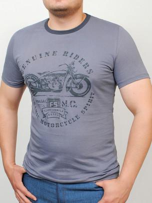 RIDERS  футболка стальной