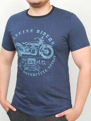 RIDERS  футболка т.синий