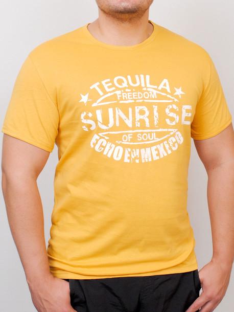 TEQUILA футболка горчица