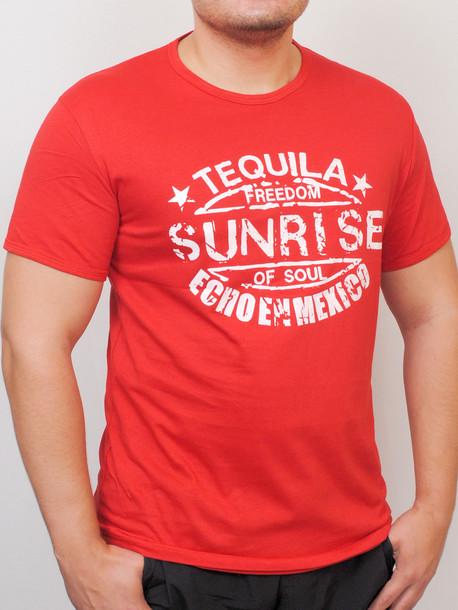 TEQUILA футболка красный