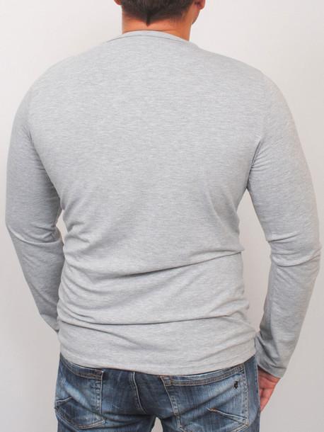 TRAVEL long футболка длинный рукав меланж