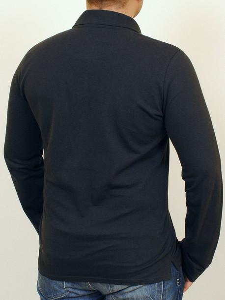 KAYMEN long футболка длинный рукав индиго