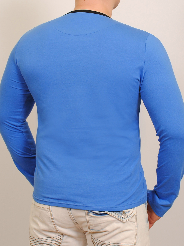 Morales  футболка длинный рукав индиго
