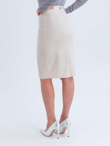 Ладья юбка молочный