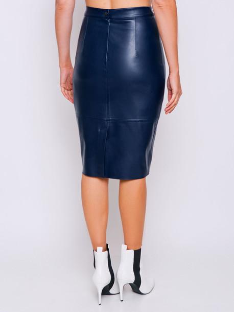 Ладья юбка т.синий