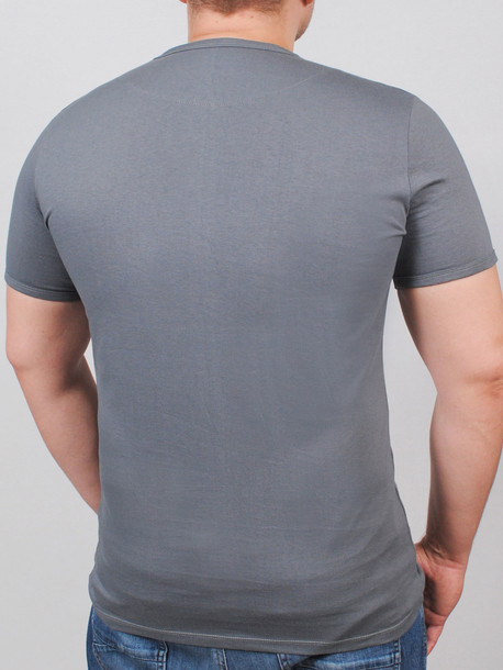 BASE футболка серый