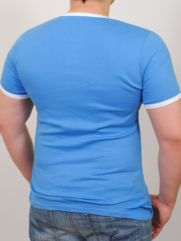 SCORPION футболка бирюза-черный