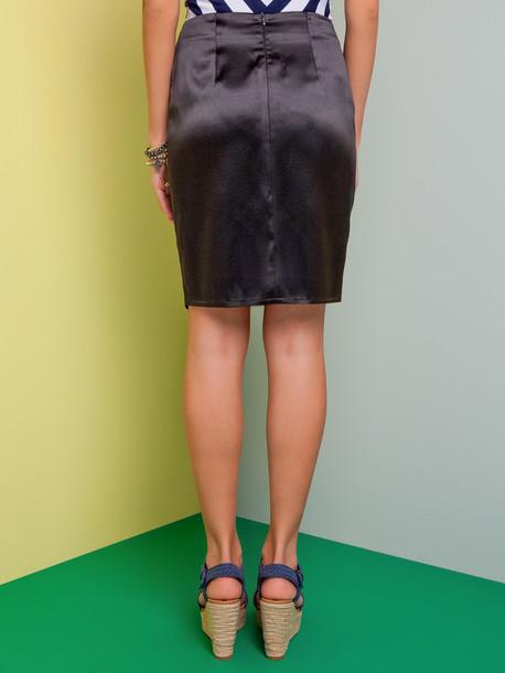 Мистика юбка черный