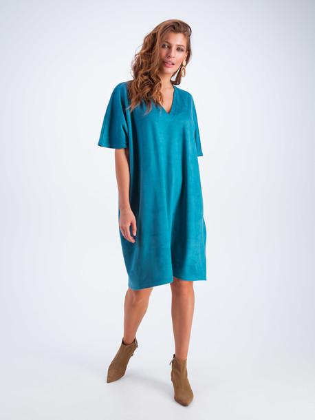 Мика платье аквамарин