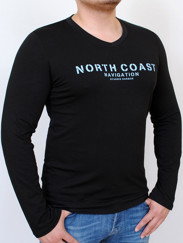 NAVIGATOR LONG футболка длинный рукав черный