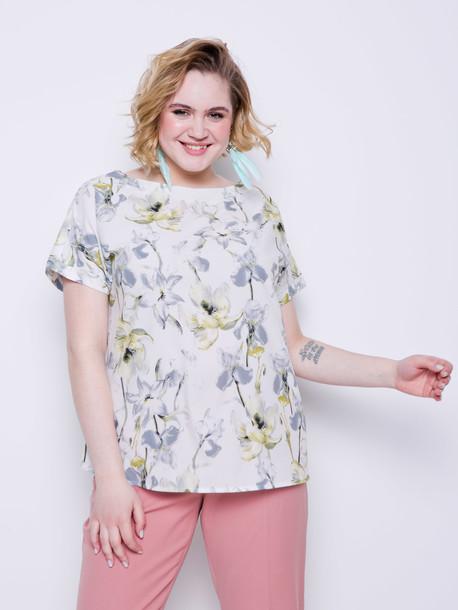 Наина блуза вердепешевый