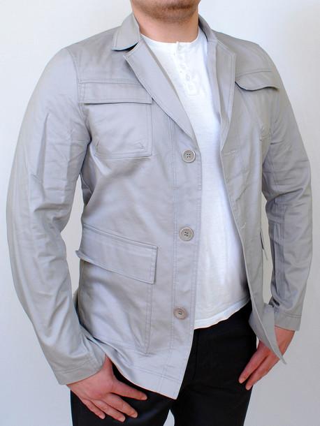 RIVER пиджак св.серый