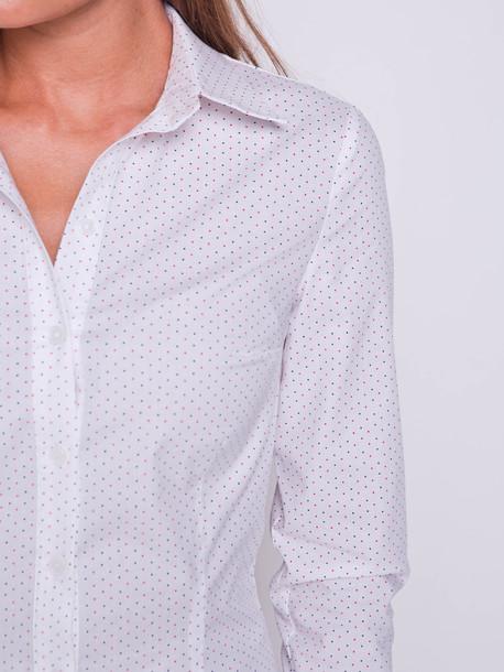 Альбина блуза-рубашка точка