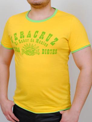 VERACRUZ футболка желтый