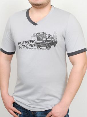DOOGEE футболка св. серый