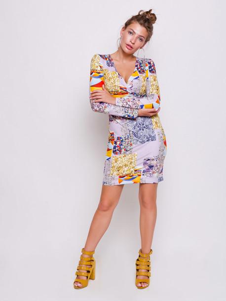 Сильвет платье сирень