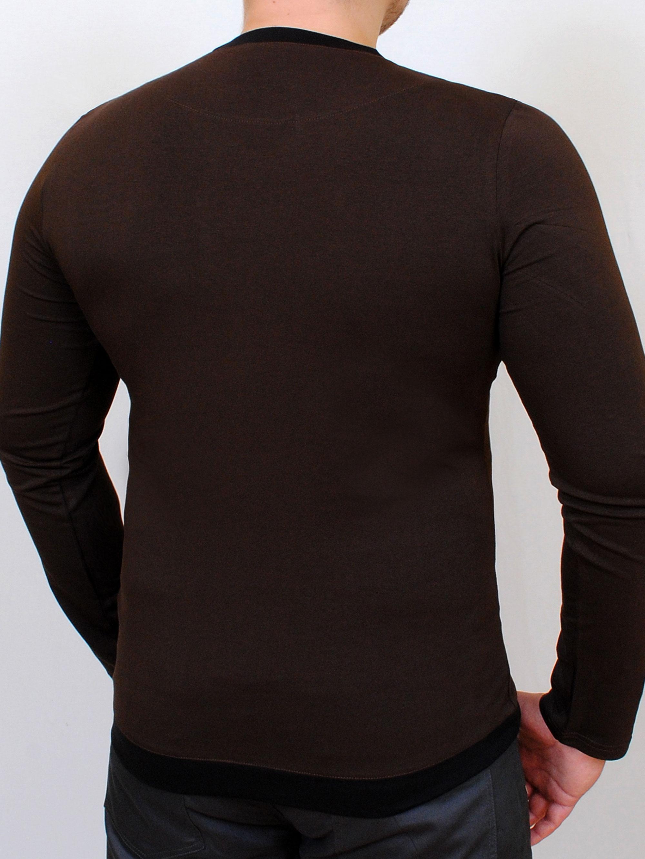 TOKEN LONG футболка длинный рукав шоколад