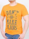 LEVEL футболка оранжевый