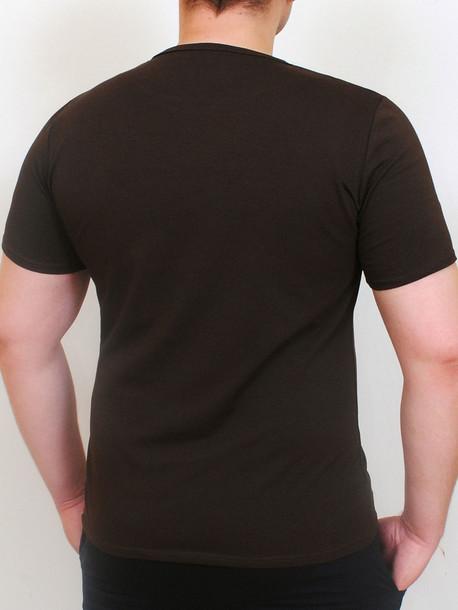 LEVEL футболка шоколад