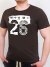 TWENTY SIX футболка шоколад