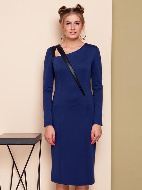 Баядера платье синий